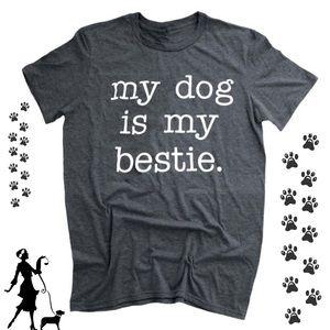 ⭐️COMING SOON⭐️my dog is my bestie Graphic Tee